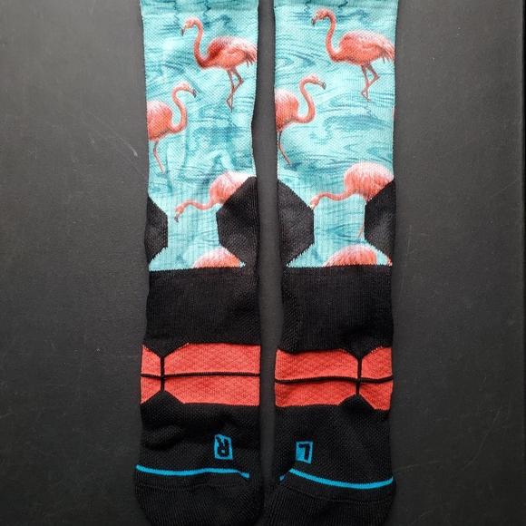 Stance Flamingo Southbeach Socks Men's Size L/XL